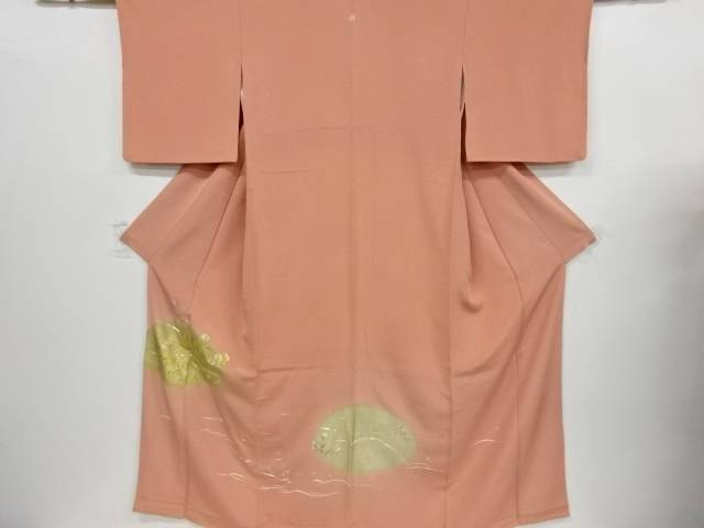 菊模様刺繍一つ紋色留袖【リサイクル】【中古】【着】 宗sou