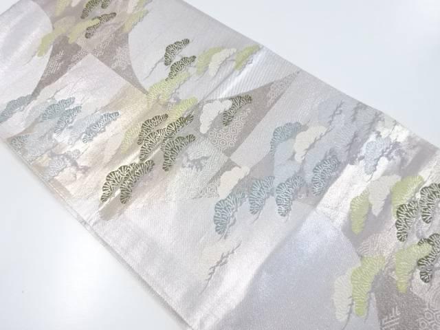 金銀糸寿松織出袋帯【リサイクル】【中古】【着】 宗sou