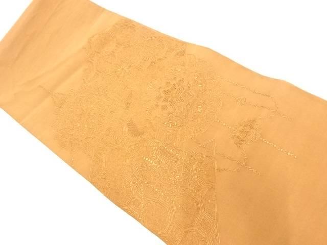 蘇州刺繍華紋模様袋帯【リサイクル】【中古】【着】 宗sou