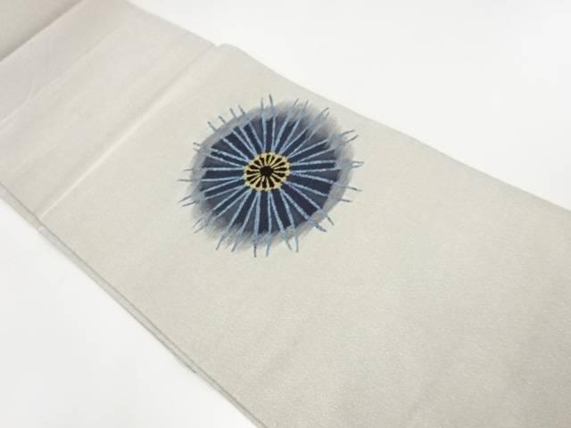 綴れ花模様織出し袋帯【リサイクル】【中古】【着】 宗sou