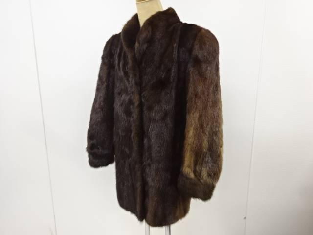 茶道具 年中無休 茶道 メーカー在庫限り品 着物 ミンクコート 11号 着 宗sou 中古 リサイクル