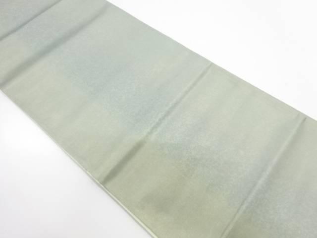 引箔縞模様織出し袋帯【リサイクル】【中古】【着】 宗sou