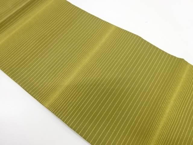 横段模様織出し全通袋帯【リサイクル】【中古】【着】 宗sou