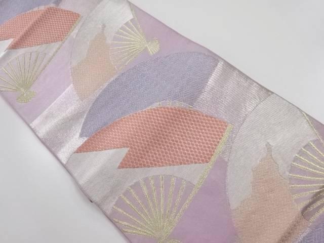 川島織物製 扇散らし模様織り出し本袋帯【リサイクル】【中古】【着】 宗sou