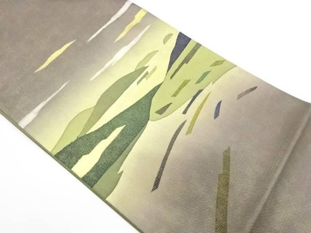 雲に山並み模様袋帯【リサイクル】【中古】【着】 宗sou