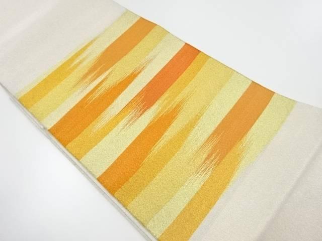 本綴れ 霞模様織り出し袋帯【リサイクル】【中古】【着】 宗sou