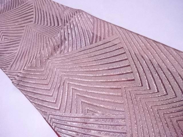 袋帯 西陣織 幾何学文【リサイクル】【中古】【着】 宗sou