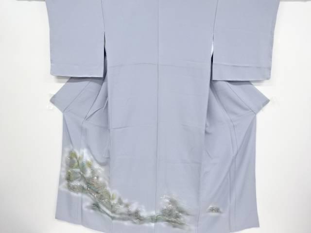 手描き家屋に樹木模様色留袖【リサイクル】【中古】【着】 宗sou