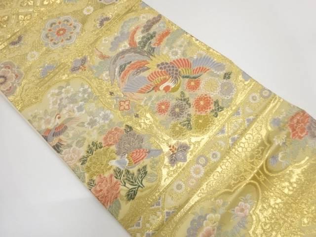 貴華鳥織出し袋帯【リサイクル】【中古】【着】 宗sou