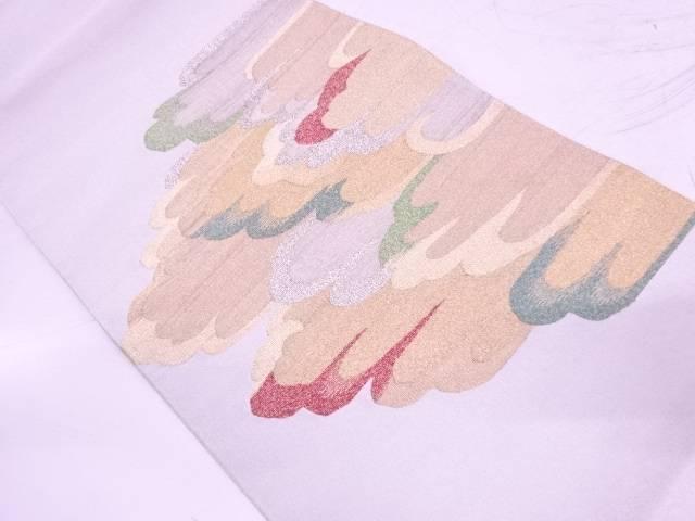 綴れ変わりヱ霞模様織出し袋帯【リサイクル】【中古】【着】 宗sou