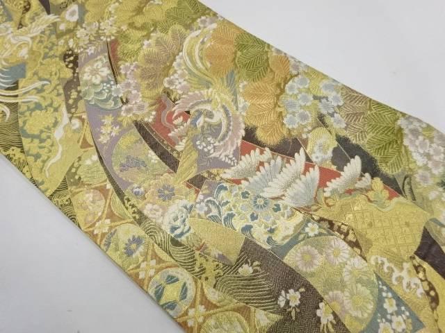 慶長瑞松文織出し袋帯【リサイクル】【中古】【着】 宗sou