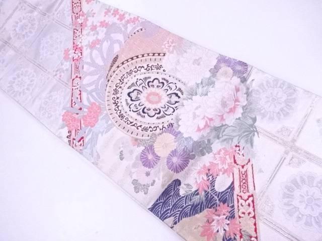 袋帯 舞楽招宴文【リサイクル】【中古】【着】 宗sou