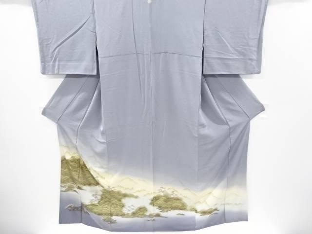 金彩 寺塔に遠山風景模様一つ紋色留袖【リサイクル】【中古】【着】 宗sou