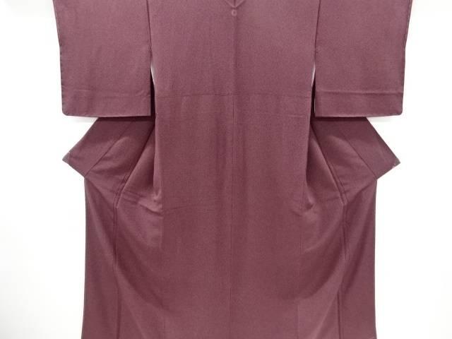 未使用品 仕立て上がり のり散らし模様一つ紋小紋着物【着】 宗sou