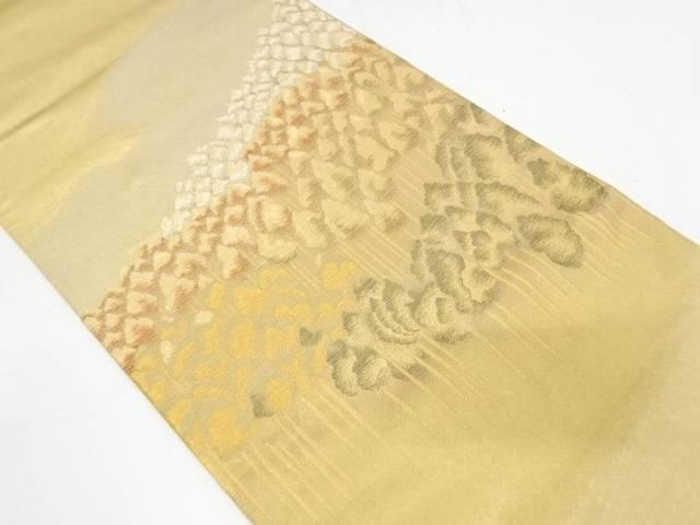 純金箔錦樹木風景模様織出し袋帯【リサイクル】【中古】【着】 宗sou
