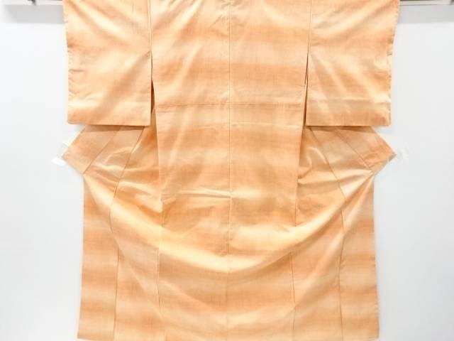暈し柄織り出し手織紬着物【リサイクル】【中古】【着】 宗sou