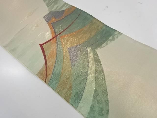 山並み模様織出し袋帯【リサイクル】【中古】【着】 宗sou
