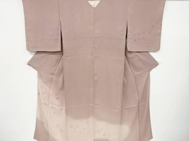 オンラインショップ 茶道具 茶道 ディスカウント 着物 未使用品 二重紗色紙模様一つ紋訪問着 仕立て上がり 宗sou 着