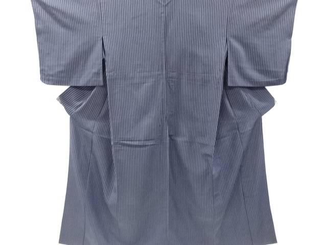 茶道具 茶道 着物 ランキングTOP10 縞織り出し本塩沢単衣着物 中古 宗sou 着 送料無料お手入れ要らず リサイクル