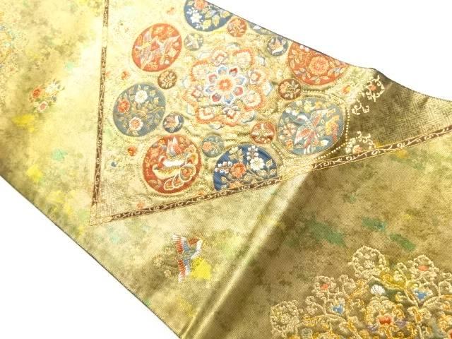 茶道具 茶道 着物 華紋 鳥模様織り出し袋帯 着 通販 中古 宗sou リサイクル セットアップ