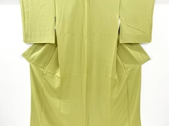 茶道具 茶道 着物 売り込み 花更紗模様織り出し一つ紋色無地着物 中古 宗sou リサイクル [並行輸入品] 着
