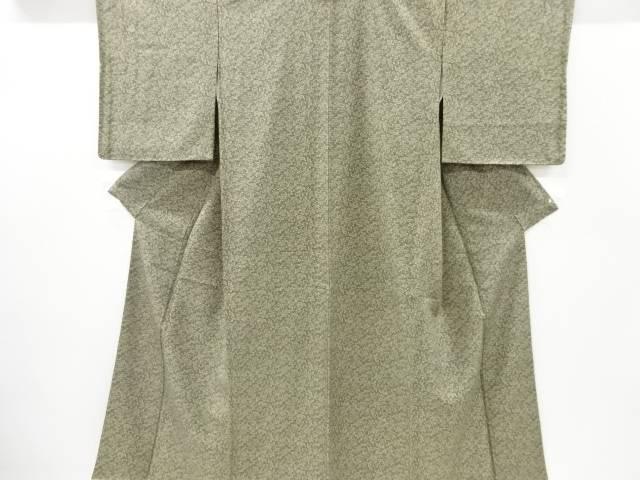 正規取扱店 茶道具 茶道 着物 未使用品 着 リサイクル 宗sou 流水に花模様小紋着物 品質保証