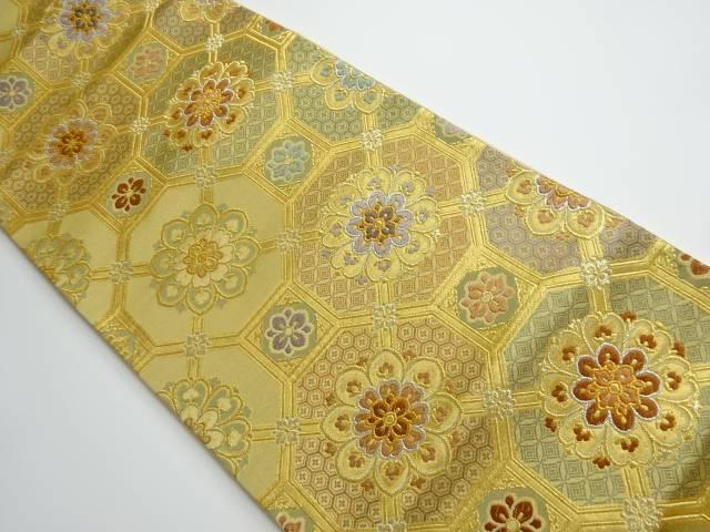 宗sou 抽象花模様織り出し袋帯【リサイクル】【中古】【着】 煌彩