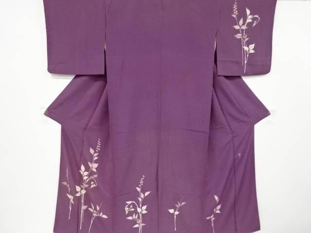 茶道具 茶道 着物 往復送料無料 日本最大級の品揃え 作家物 枝蕾模様着物 リサイクル 中古 宗sou 着