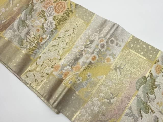 茶道具 茶道 着物 正規品 天井蒔絵文織出し袋帯 着 宗sou リサイクル 中古 定番の人気シリーズPOINT ポイント 入荷