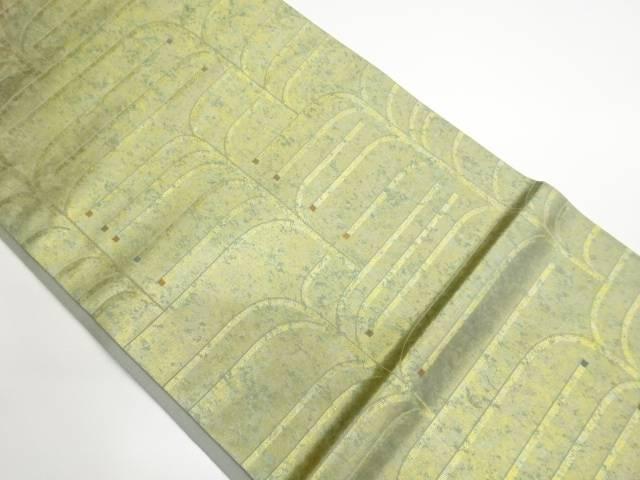茶道具 茶道 着物 開店記念セール 引箔抽象模様織出し袋帯 中古 着 宗sou リサイクル 人気ブランド多数対象