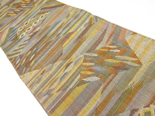 茶道具 茶道 着物 完全送料無料 商品 檜垣模様織り出し袋帯 着 宗sou 中古 リサイクル