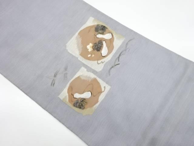 品質検査済 茶道具 茶道 着物 瓢箪模様織出し洒落袋帯 リサイクル 宗sou 中古 着 マーケティング