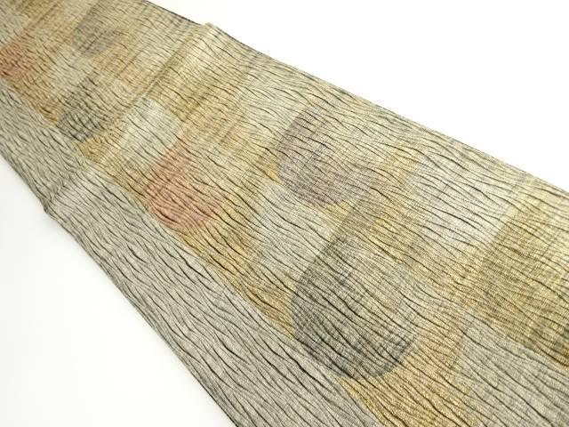 茶道具 茶道 新作 大人気 人気 おすすめ 着物 金通し抽象模様織り出し袋帯 着 リサイクル 宗sou 中古
