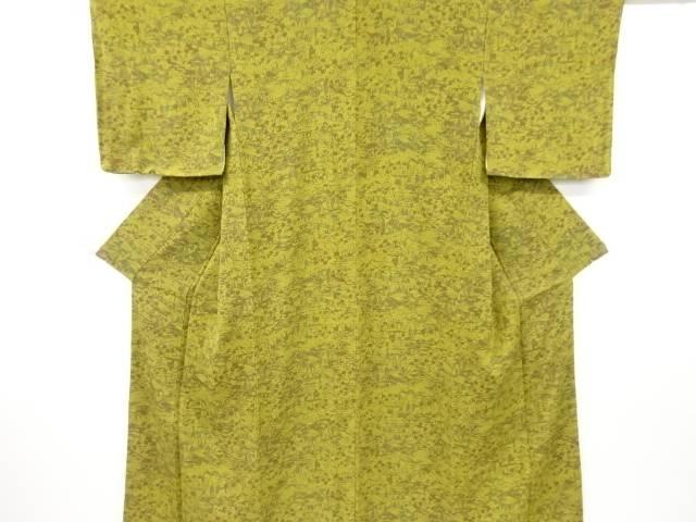 大規模セール 茶道具 茶道 着物 未使用品 着 リサイクル 宗sou 入荷予定 縮緬地家屋に草花模様小紋着物