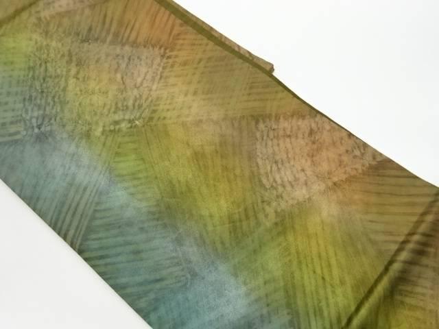 茶道具 茶道 着物 抽象模様全通袋帯 リサイクル 宗sou 中古 安心の実績 高価 買取 強化中 時間指定不可 着