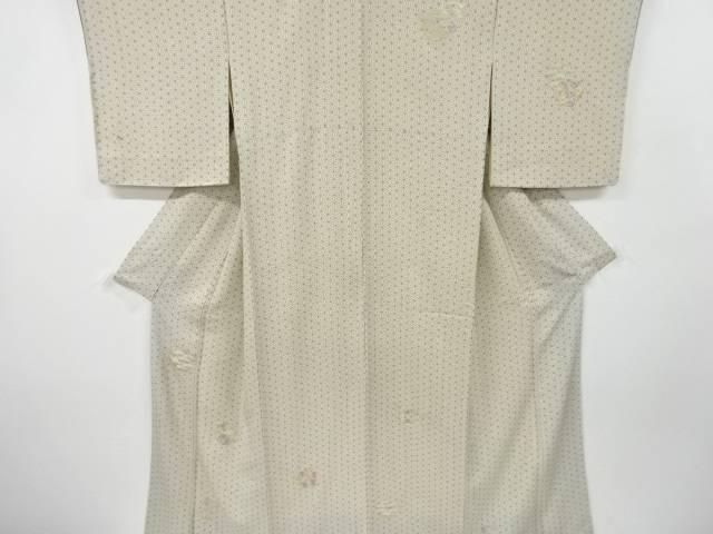 茶道具 茶道 着物 花輪模様刺繍着物 中古 タイムセール 全品最安値に挑戦 着 宗sou アンティーク