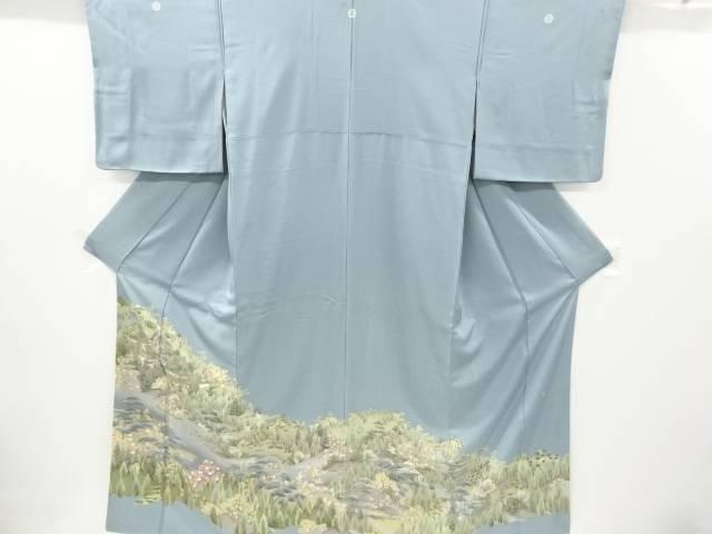 茶道具 茶道 着物 作家物 メーカー直売 寺院風景模様三つ紋色留袖 着 比翼付き 25%OFF 宗sou リサイクル 中古