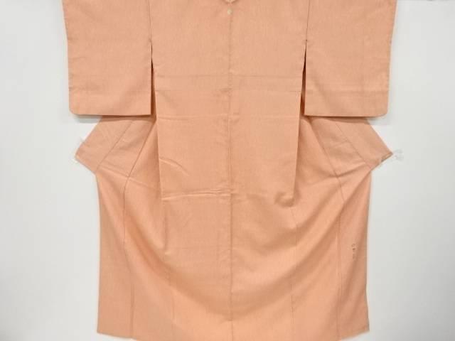 茶道具 茶道 着物 織り柄一つ紋色無地着物 即納最大半額 中古 リサイクル 着 オリジナル 宗sou