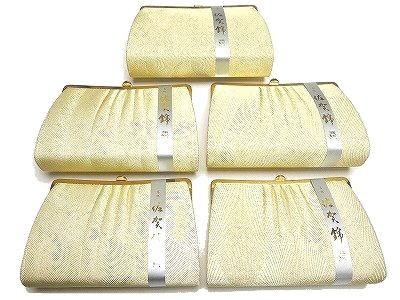 結婚式 パーティーにお使いいただける高級感のある日本製の佐賀錦のバッグです 佐賀錦バッグ 和装バッグ 手提げ用のチェーン付き 日本製 特価キャンペーン ゴールド柄はお任せください 格安店 手提げおかかえ兼用