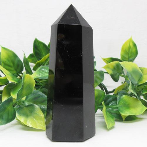 【天然石】モリオンポイント(黒水晶)242g厄除け魔除け守護