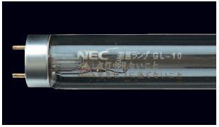 【10本セット】NEC 殺菌ランプ GL-15 10本セットモデル