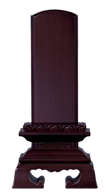 【仏具】【仏壇】【お位牌】黒檀・紫檀 蓮付春日 位牌 3.5寸【送料無料】