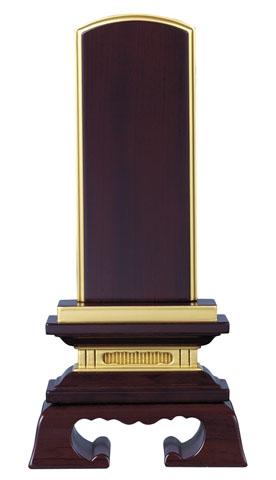 【仏具】【仏壇】【お位牌】黒檀・紫檀 面粉 春日 位牌 5.0寸【送料無料】