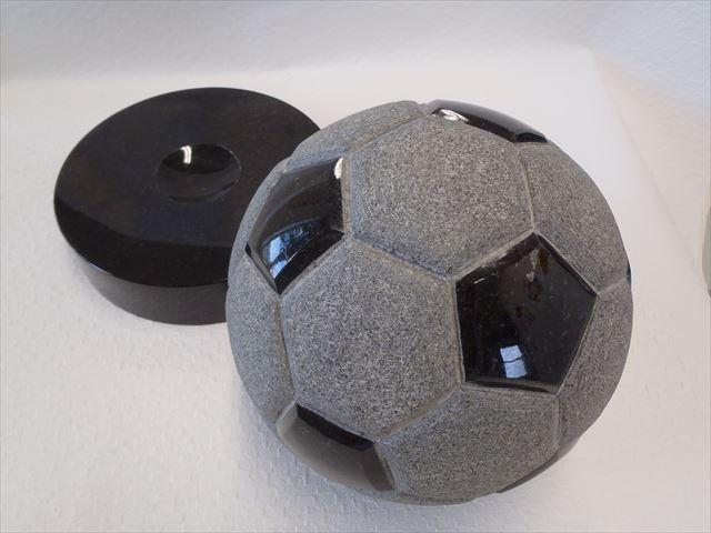 【置物】【御影石】 サッカーボール