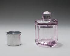 【仏具】【ミニ骨壷】【手元供養】クリスタル ご遺骨収納MA-3(ピンク)