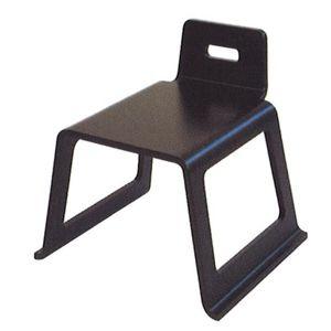 成形合板お詣り椅子【ASUKA】 ダーク