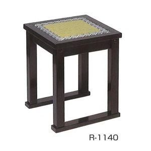 内陣用椅子 (黒塗) R-1140 [組立式]