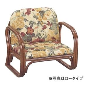 思いやり座椅子(籐製) ロータイプ