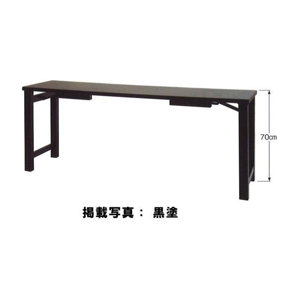 座卓兼用型法事机 黒塗・6尺