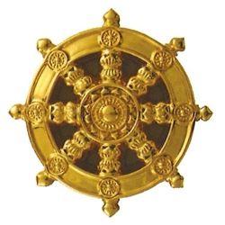 セラミック定紋輪宝 横穴式・1尺(約30cm)
